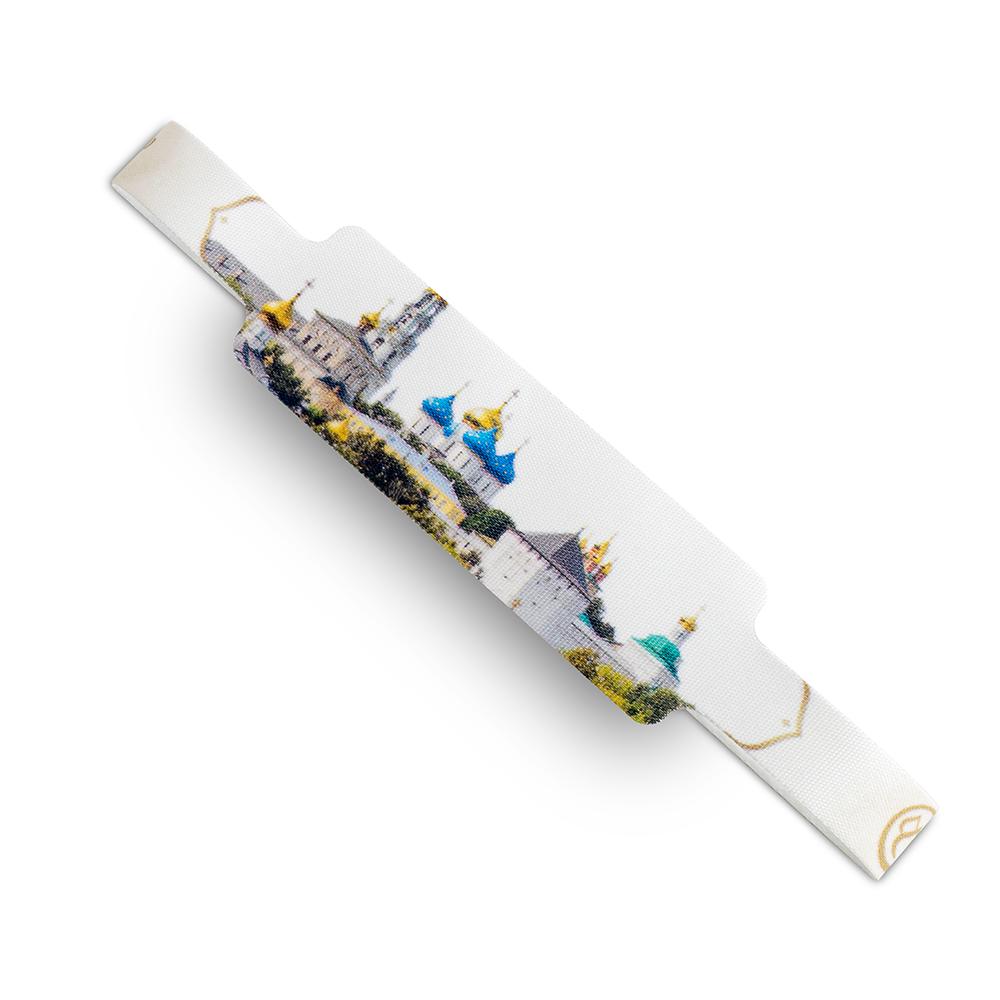 Текстильный контрольный браслет Золотое Кольцо