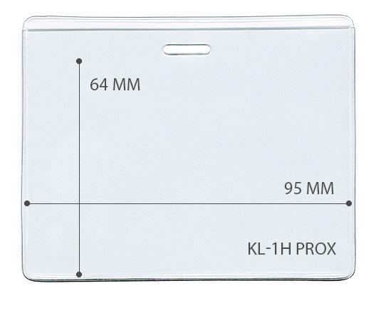 Карман горизонтальный для проксимити карты (LUX)