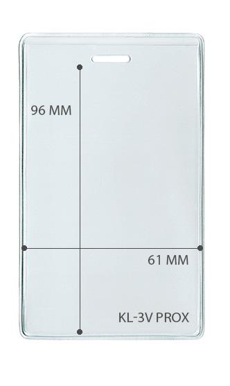 Карман вертикальный для проксимити карты (LUX)