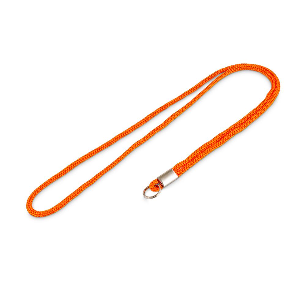 Шнурок для бейджа с кольцом