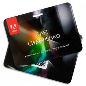 Бейдж. Adobe