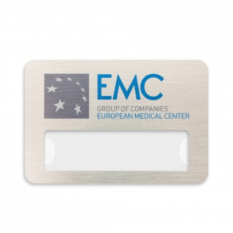 Бейдж с окном EMC