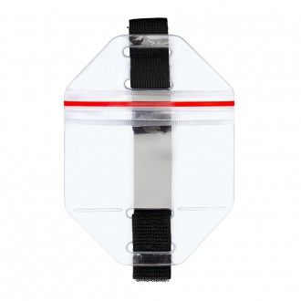 Карман нарукавный вертикальный с Zip-Lock