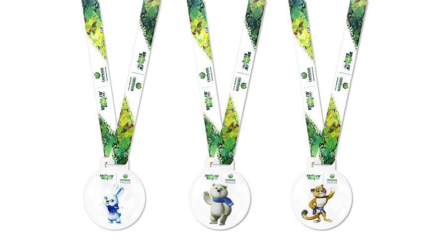 Медали на ленте
